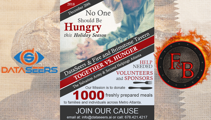 DataSeers with a Charity Campaign to Fight Hunger